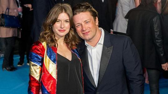 Jamie Oliver s manželkou Jools