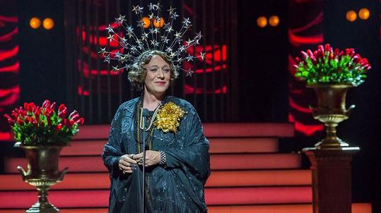 Robert Jašków jako Meryl Streep (Florence Foster Jenkins)