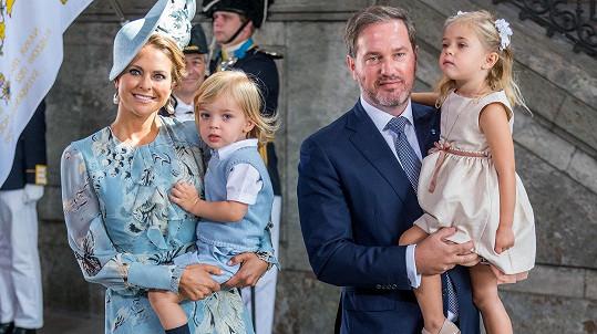 Madeleine a Christopher už mají třetího potomka.