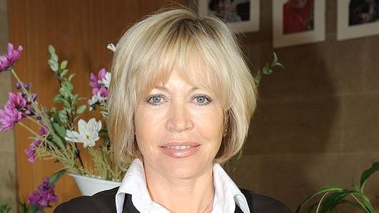 Jana Švandová na slavnostním otevření Alzheimer centra.