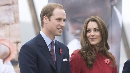 Kate s Williamem v Dánsku.