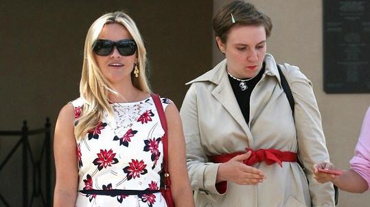 Reese Witherspoon a její o deset let mladší kolegyně Lena Dunham