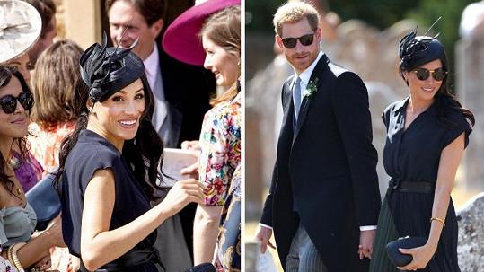 Vévodkyně ze Sussexu jen zářila.