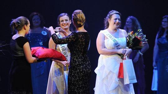 O titul baculaté Miss soutěžily dívky hodně plných tvarů