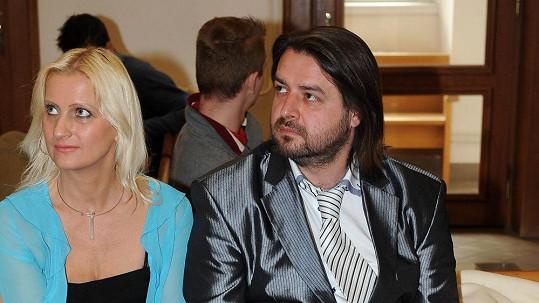 Zdeněk Macura s bývalou přítelkyní Vlaďkou
