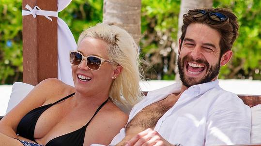 Jennie Garth s manželem Davidem Abramsem