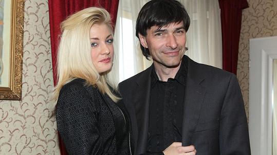 Zdeněk Podhůrský se svým mladým doprovodem