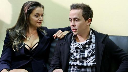 Iva Kubelková a Petr Lexa