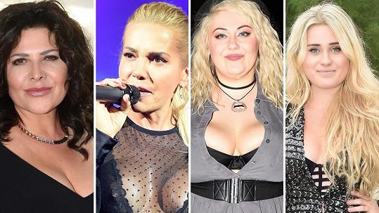 Na koncertě Dance Divas zpěvačky předvedly nejen své hlasy, ale i dekolty.