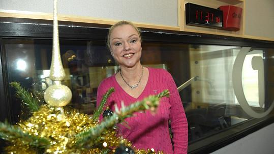 Dominika Gottová už se těší na Vánoce.