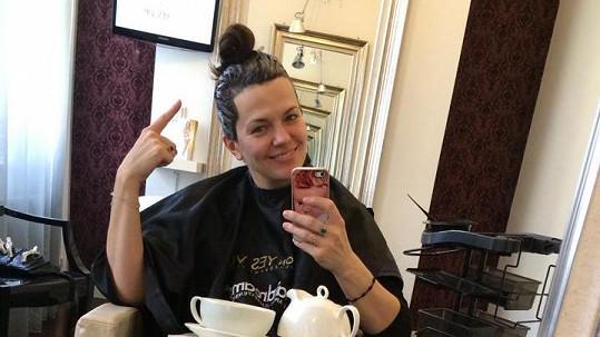 Marta Jandová bez make-upu