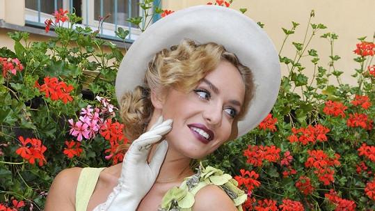 Taťána Kuchařová vypadala jako vždy úžasně.
