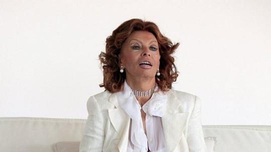 Sophia Loren nestárne.