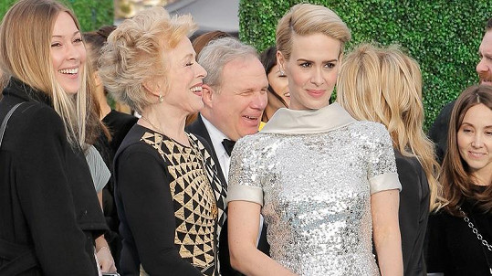 Sarah Paulson a Holland Taylor na Critics Choice Awards