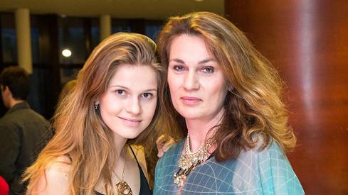 Tamara Kramárová s maminkou Natašou