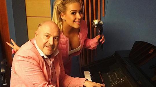 Růžové komando Michal David a Dominika Myslivcová