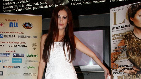 Hana Svobodová by jako nevěsta byla nádherná.