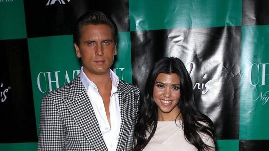 Kourtney Kardashian a Scott Disick budou znovu chovat.