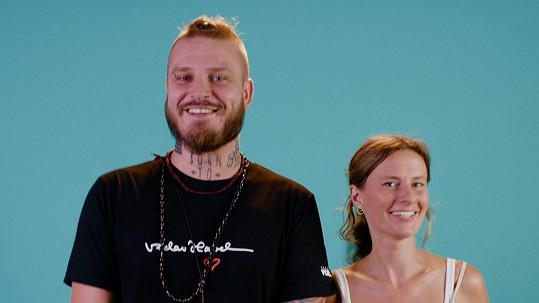 Kuba Ryba s manželkou