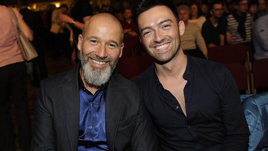 Jan Musil s přítelem Štefanem