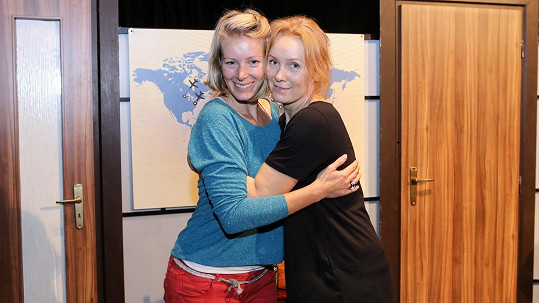 Anna Kulovaná a Petra Špindlerová