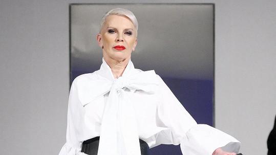 Katka Kornová se vrátila na módní molo.