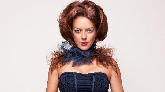 Andrea Kerestešová si vyzkoušla roli modelky.