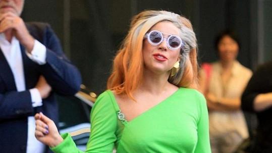 Zpěvačka Lady Gaga.
