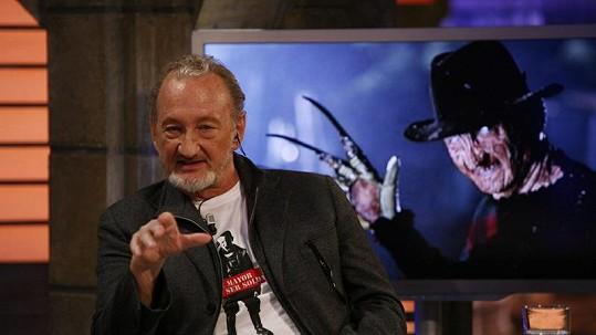 Robert Englund a jeho nejslavnější role zabijáka Freddyho Kruegera.