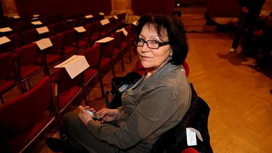 Marta Kubišová je silná žena.