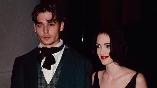 Johnny Depp a Winona Ryder
