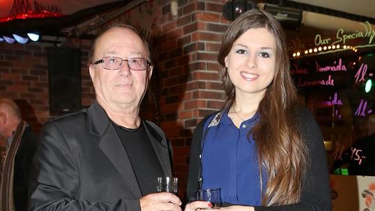 Petr Janda s dcerou Eliškou.