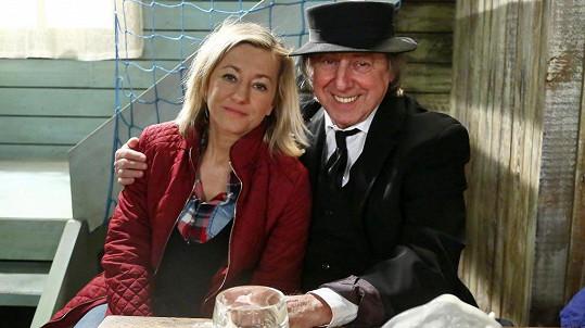 Boris Hybner s dcerou Vandou Hybnerovou