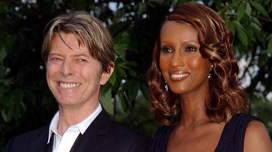 David Bowie a Iman