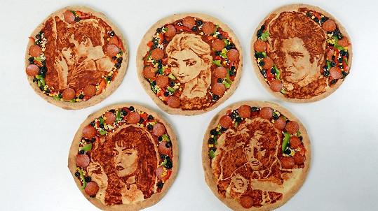 Tyto pizzy jsou inspirovány známými filmy.