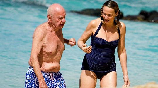 Manželský pár vyrazil na Barbados.