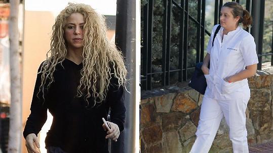 Shakira stále není ve své kůži. Každý den za ní docházejí zdravotníci.