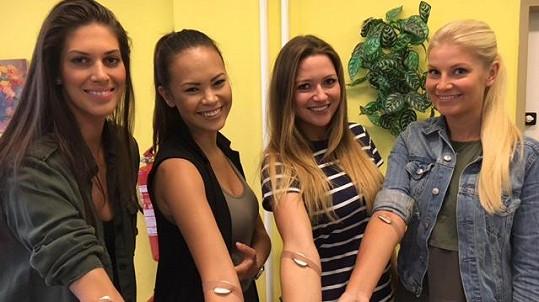 Missky darovaly krev.