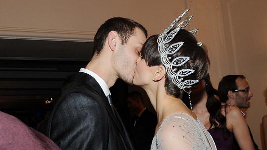 Gabriela Kratochvílová s přítelem Filipem.