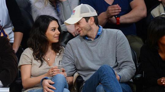 Ashton Kutcher a Mila Kunis