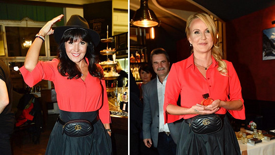 Vendula a Martina si oblékly stejný model jen den po sobě.