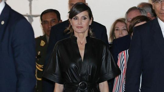 Letizia Španělská styl nepostrádá.