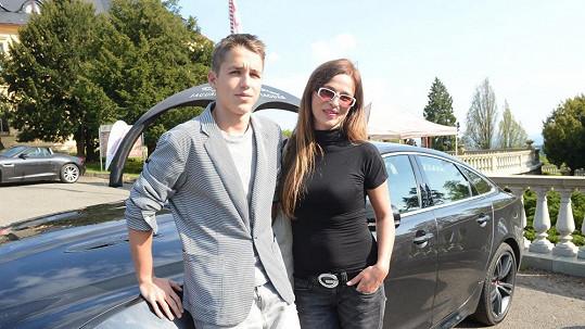 Lucie Zedníčková se synem