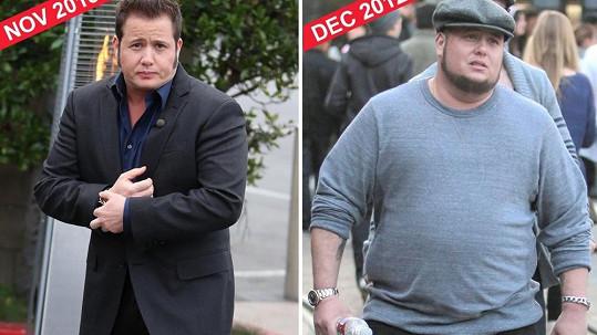 Srovnávací snímek z loňského prosince a letošního listopadu
