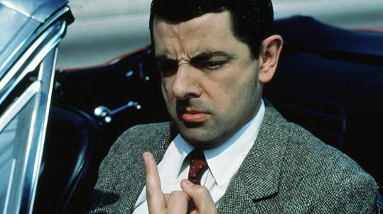 Rowan Atkinson ve slavné roli Mr. Beana