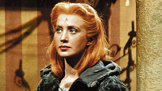 Marie Kyselková jako Lada v pohádce Princezna se zlatou hvězdou