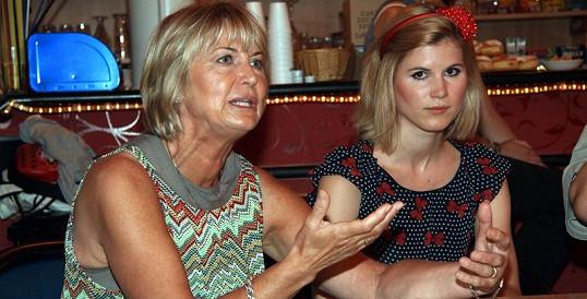 Eliška Balzerová s dcerou Adélou Šotolovou.