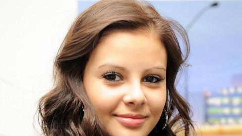 Monika Bagárová zaujala nejen zpěvem, ale i krásou.