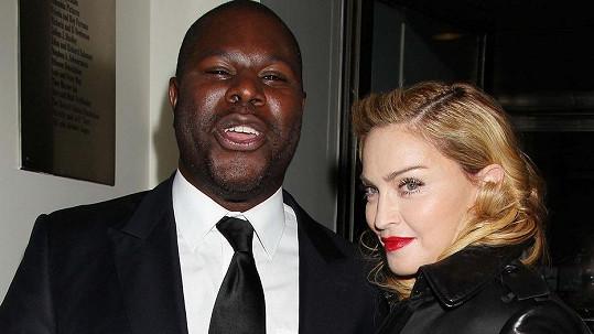 Madonna a režisér Steve McQueen, jehož film ji nejspíš moc nezaujal.