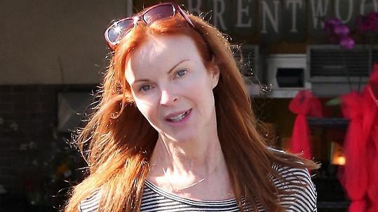 Marcia Cross si může s klidným srdcem dovolit chodit bez make-upu.